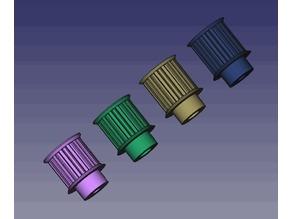 pulley_T5_14_teeth_4 variant