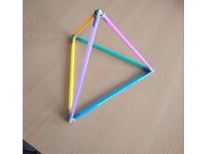 Tetrahedra (vertexes)
