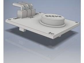 [Mockup] 433Mhz Transmitter - R433S - Raspberry - Arduino
