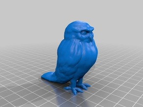 フクロウ(Owl)3Dデータ