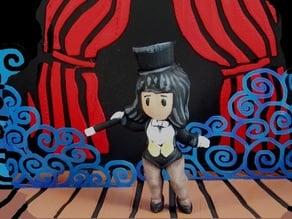 Zatanna Zatara, Scribblenauts Diorama
