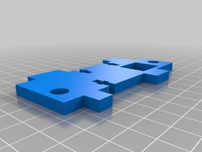 Anet A6 Frame Z axis the Left part
