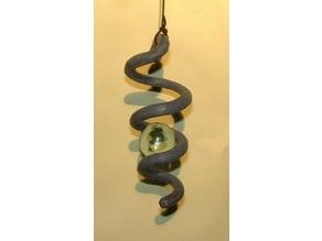 Marble Spiral Spinner