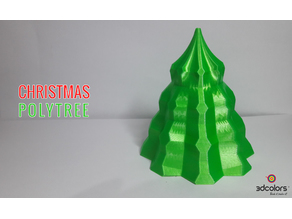 things tagged with christmas trees thingiverse - Polytree Christmas Tree
