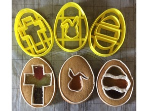 Easter Sparkle Window Cookie Cutters