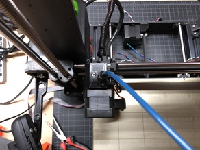 Prusa MK3 and MK2s Reverse Bowden System V2.0