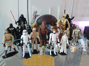 Star Wars Figures Simple Stands