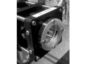 Lens holder for 40 mm lens in 60 mm optical cage