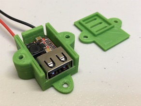 USB Buck Converter Case