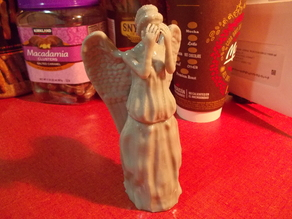 Weeping Angel redux (Tree Topper)