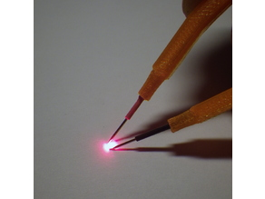 SMD LED tester tweezers