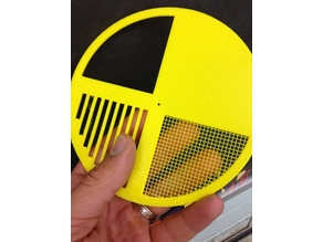 Bait Hive Entrance Disc with fine mesh screen