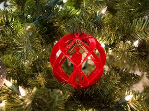 Wally Ball Custom Spiral Sphere Ornament