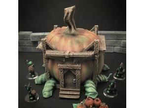 Pumpkin House (28mm/32mm scale)