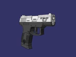 Handgun : Taurus PT320 ( monobloc )