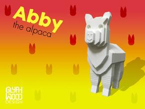 Abby the Alpaca