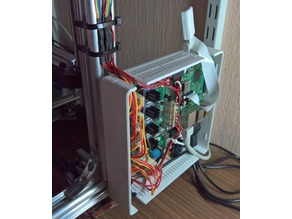 Common Housing for Velleman K8200/3Drag Controller and Raspberry Pi with Camera