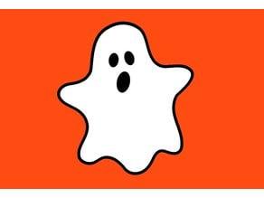 Ghost Fridge Magnet