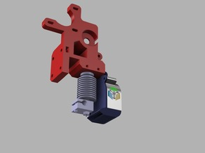 Radial Fan-mount/duct wade extruder prusa i3