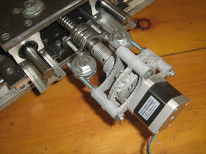 Power Planetary Reductor with Metal Part for Nema 17 motor