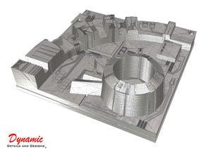 Death Star Surface Tile 01E