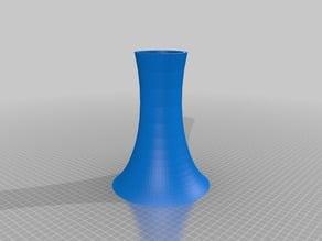Narrow neck vase