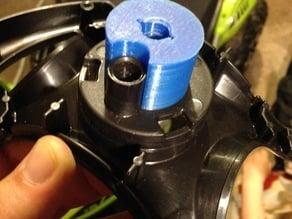 Powerwheels steering rod adaptor