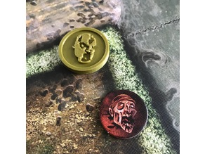 Zombicide First Player Coin
