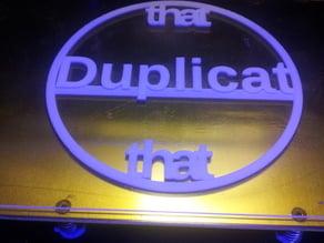 Duplicat that -calibration circle