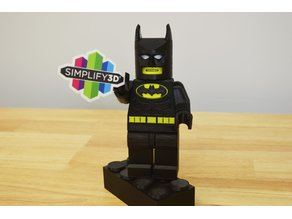 Giant Lego Batman Dual Extrusion Update