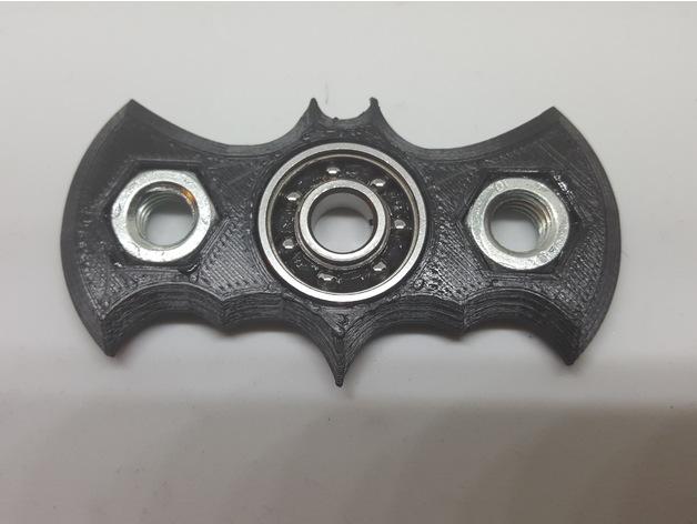 Batman Symbol Fidget Spinner V1 By Torileighr