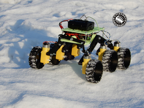 RC Rocker-bogie chassis (Mini martian rover)