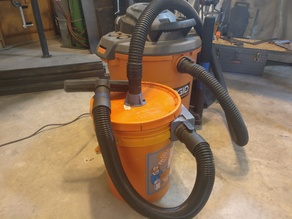 "Shop Vac Thien Baffle Dust Collector (for 1.875"" RIDGID hose)"
