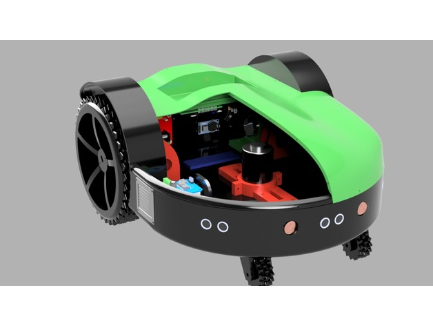 Robot Lawn Mower by ReP_AL - Thingiverse