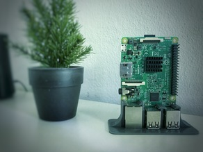 Simple RPi Desk Stand