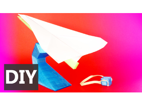 Avión de papel - Paper plane
