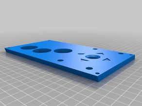 Print'n'Play Control Panel 3 Buttons 30mm