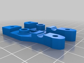 Bowden Extruder   Mount for ANET A8 & Others