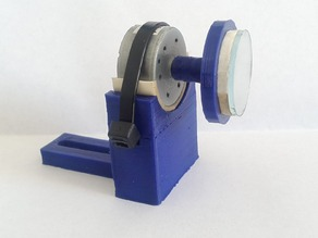 Mirror - motor mount