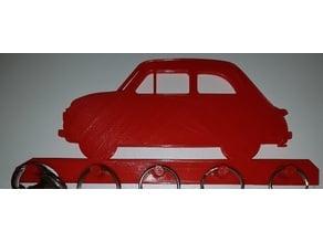 Fiat 500 Keyhanger