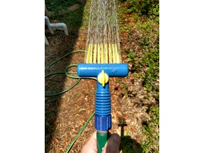 Aqua Comb Garden Hose Collar