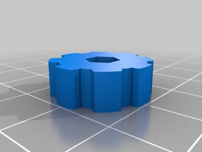 Maximum Sized Thumbwheel for Anet A8