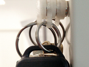 Modular Magnetic Keychain