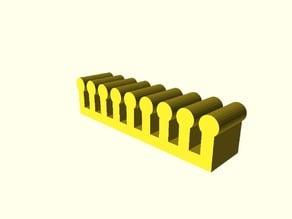 Parametric Wire Organizer