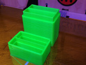 Making more battery holders. This time for NB-5L's #makerbot #replicator