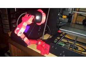 Z brace Camera Mount for Wanhao Duplicator i3, Maker Select. (C270 Tripod Remix)