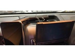 Jeep Wrangler JKU Dash Phone Mount Extension