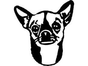 Chihuahua 3D Wall Art