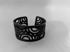Thermoform cuff bracelet
