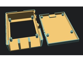 Case for Raspberry Pi with UnicornHat